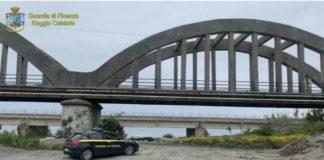 ponte Pilati Melito Porto Salvo, sequestro Guardia di Finanza Reggio Calabria