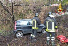 incidente stradale, Vigili del Fuoco Lamezia Terme