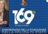 anniversario Polizia, Sottosegretario alla Difesa Senatrice Stefania Pucciarelli