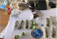 arresto per droga, Questura di Catanzaro