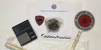 arresto spacciatore, Polizia Crotone