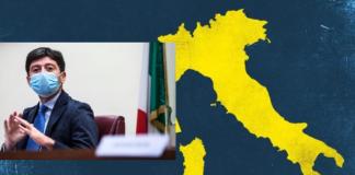 zone gialle previste a maggio lo assicura il ministro alla Salute Roberto Speranza