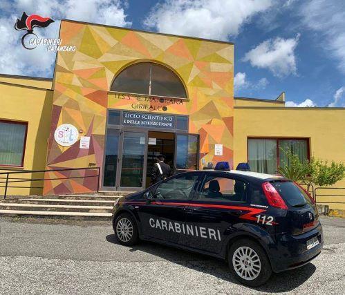 Carabinieri e studenti Catanzaro Girifalco, Carabinieri Catanzaro