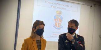 Prefetto Roberta Lulli al Comando Provinciale Carabinieri Vibo Valentia