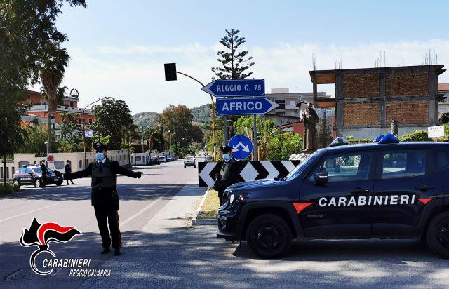 Controlli Bianco, Carabinieri Reggio Calabria