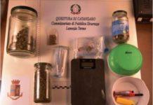Lamezia Terme, arresto per droga Questura Catanzaro