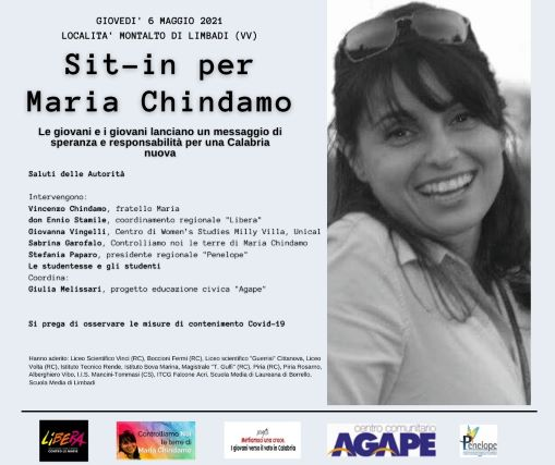 sit in per Maria Chindamo