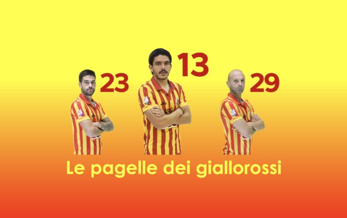 Le pagelle dei giallorossi: Baldassin, Carlini e Fazio i migliori