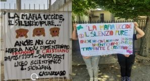 Scuole Catanzaro e Libera Catanzaro, anniversario omicidio Cristiano e Tramonte