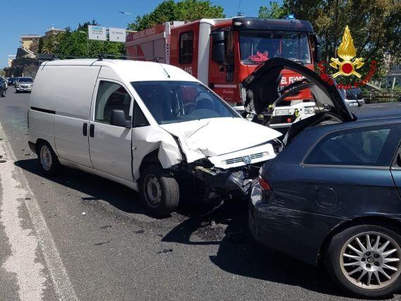 incidente stradale, Vigili del Fuoco