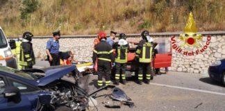 incidente svincolo Pietragrande, Vigili del Fuoco
