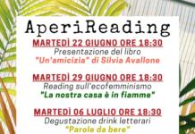 AperiReading, aperitivi letterari, Soverato, Exotica