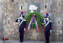 Cerimonia 25° anniversario omicidio Mar. Capo Pasquale Azzolina