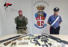 Gioia Tauro, armi, Carabinieri Reggio Calabria
