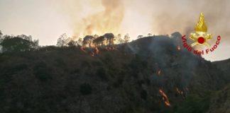 Incendio, Vigili del Fuoco Catanzaro