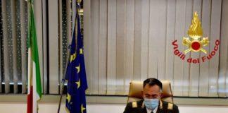 Ing. Maurizio Lucia, direttore regionale Vigili del Fuoco per la Calabria