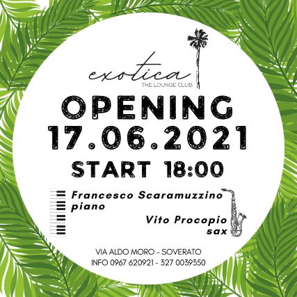 Exotica Soverato OPENING