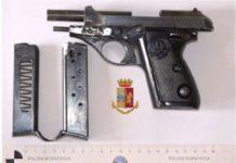 Questura Catanzaro, arresto per arma clandestina