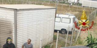 incidente Crotone, Vigili del Fuoco