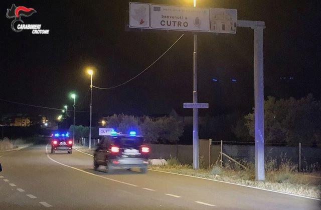 Cutro, Carabinieri Crotone