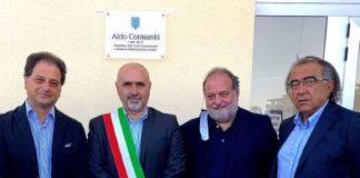Inaugurazione scuola con Corasaniti Giuseppe