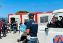 Tendopoli San Ferdinando, Polizia Reggio Calabria