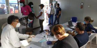 Vax Day Tendopoli San Ferdinando