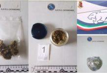 arresto per droga, Polizia Catanzaro
