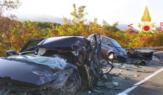 incidente stradale, Vigili del Fuoco Cosenza
