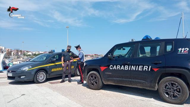 Cirò Marina, arresto Carabinieri e Guardia di Finanza