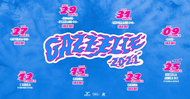 Gazzelle, Roccella Summer Festival