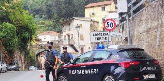 Lamezia Terme, Carabinieri Catanzaro