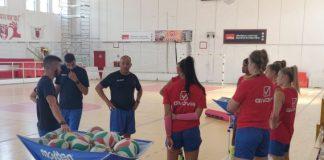 Volley Soverato allenamento