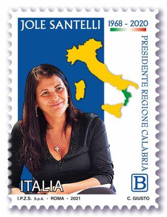 Francobollo Jole Santelli
