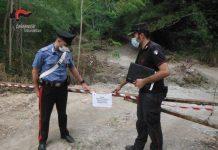Lamezia Terme, sequestro terreno, Carabinieri Tutela Forestale