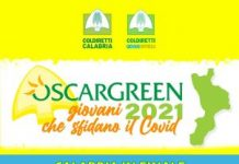 Premio Oscar Green 2021 con il Procuratore Gratteri