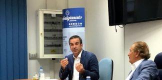 Roberto Occhiuto presidente Regione Calabria alla sede Confartigianato Imprese Calabria