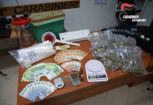 arresto per droga, Carabinieri Catanzaro