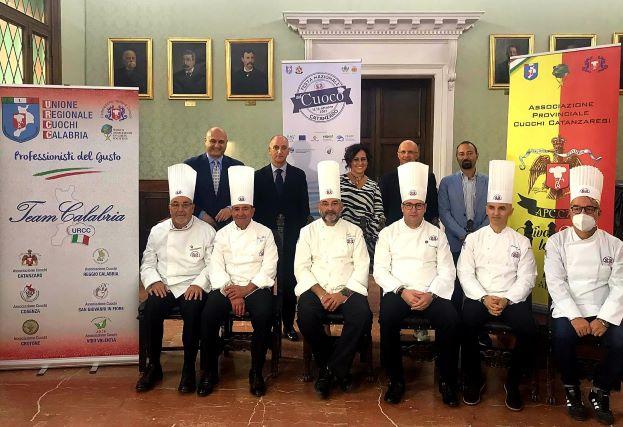 foto presentazione gruppo Festa del Cuoco 2021