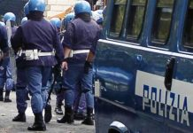 polizia antisommossa