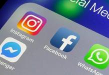 whatsapp, instagram, facebook