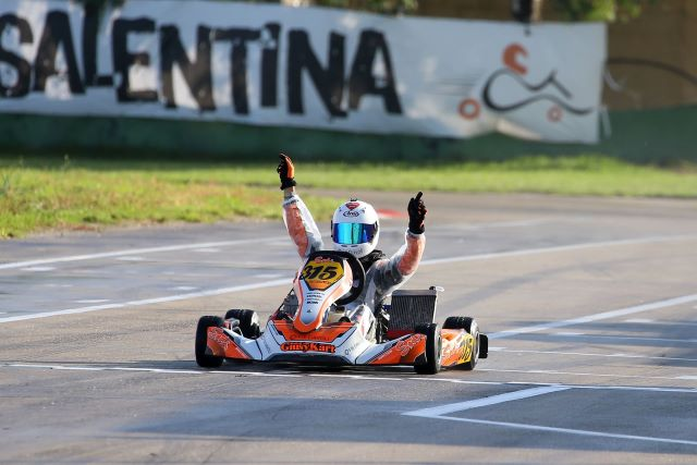 Simone Virelli karting